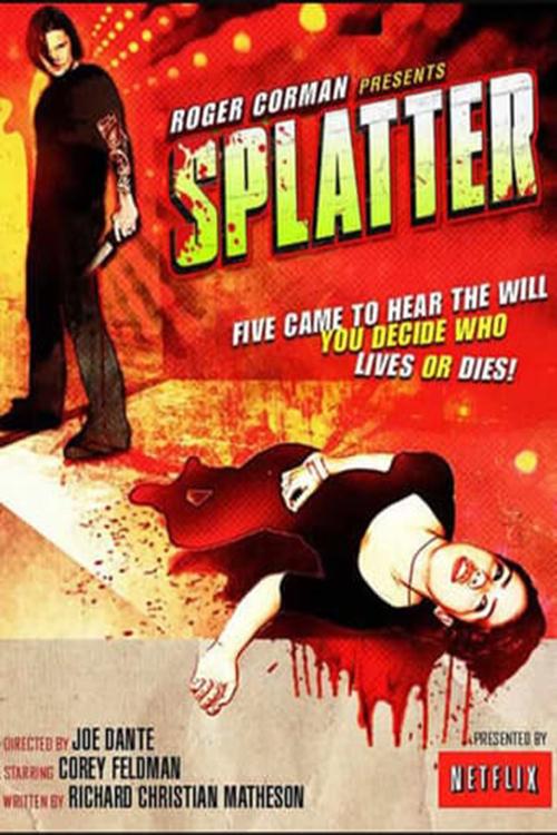 Splatter poster